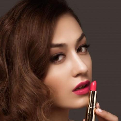 Son môi GOLD cao cấp chính hãng màu hồng Sen
