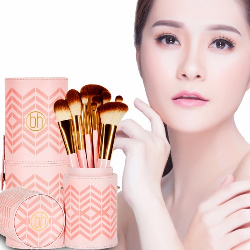 Bộ 10 Cọ BH Cosmetics Pink Perfection – 10 Piece Brush Set