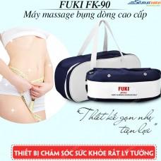 Máy massage bụng FUKI Nhật Bản FK90 (xanh đen) - New 2018